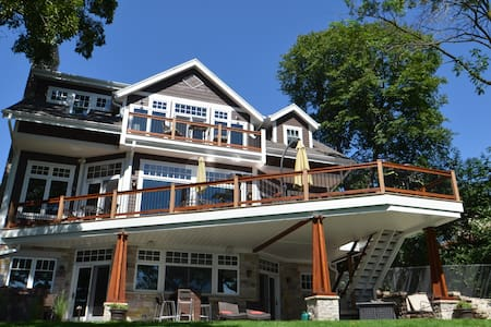 US Open Lakefront Home Rental - Oconomowoc - บ้าน