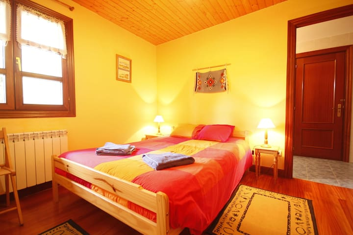 Habitación doble en CR de Urdaibai
