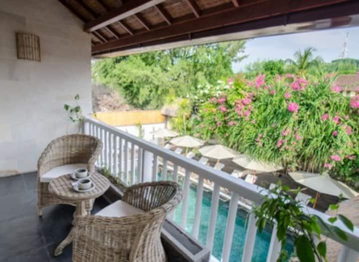 Pool View Room at Scallywags Resort Gili Trawangan
