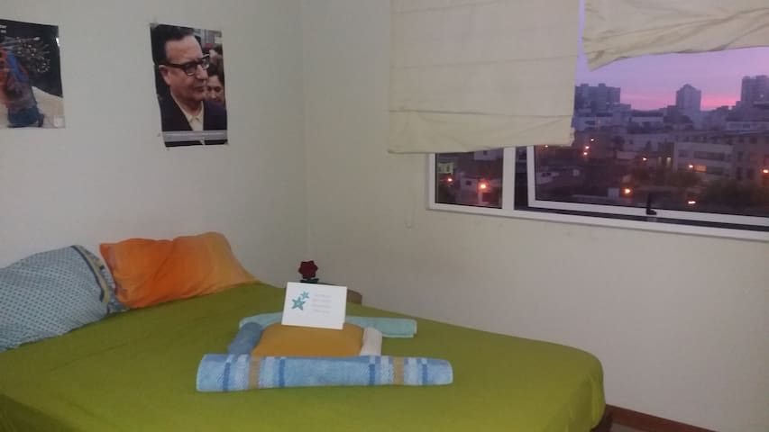 Beautiful and bright room in central Miraflores!!! - Miraflores - Lägenhet