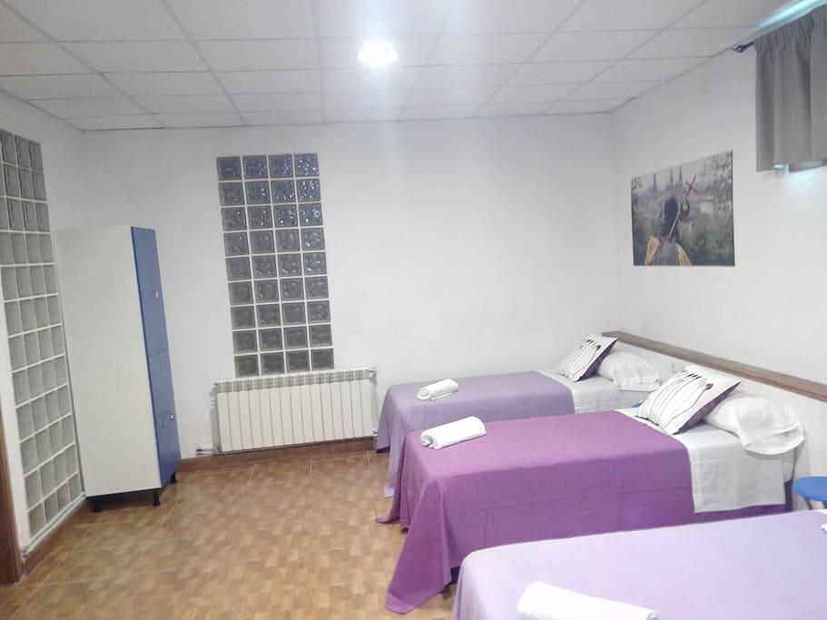 VISTA HABITACION XACOVEO VIOLETA