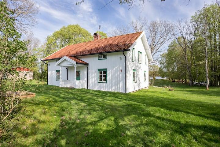 Lantligt Hus på 90m²,  Prässebo utanför Göteborg