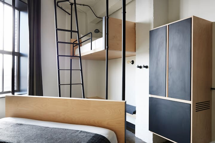 The Robey, Queen + Twin Loft Accessible