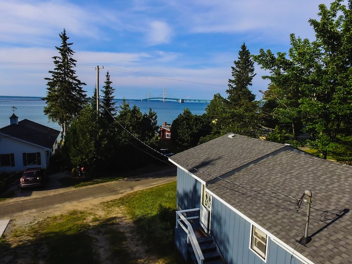 Mackinac Bridge View Cottage