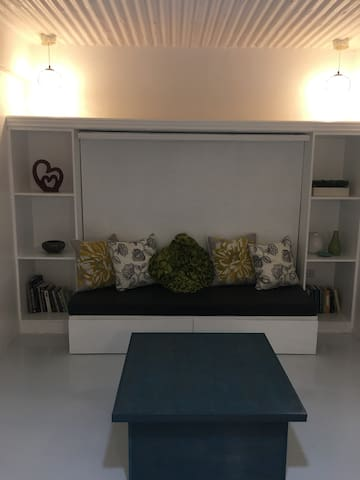 Living Room with a Murphy Bed