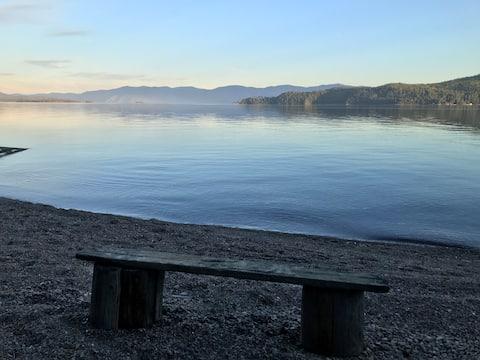 Private Beach Campsite on Lake Pend Oreille
