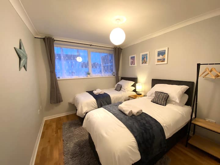 🌟FREE PARKING Central Southsea Apartment 🌟