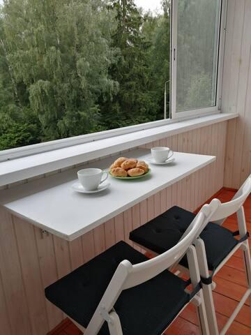 Квартира у леса