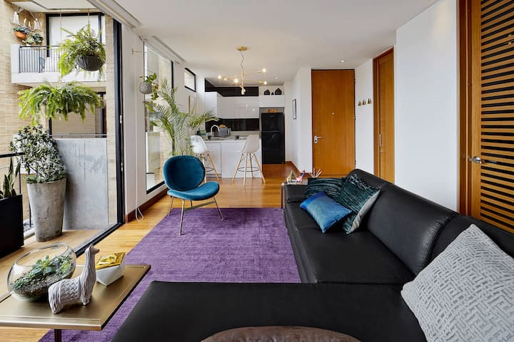 Modern Apartment in Trendy Chicó