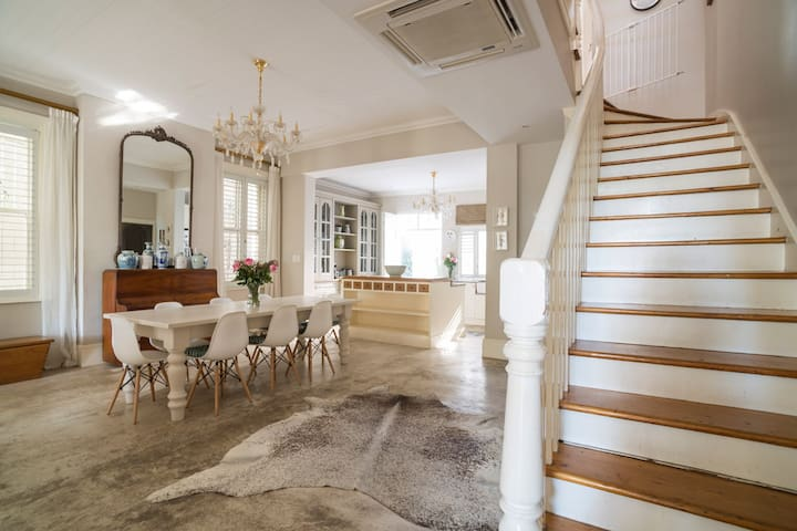 The Dining Room – leading to bedrooms
