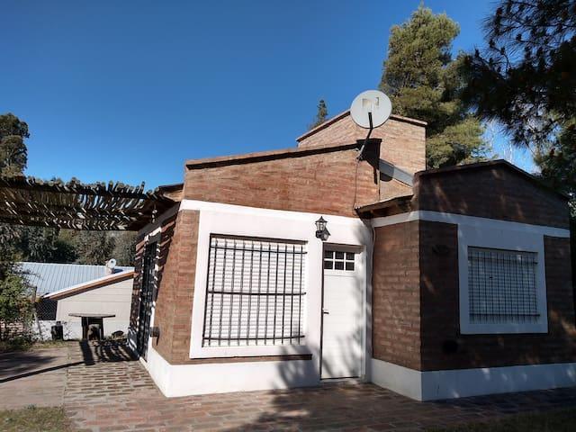 Casa nueva en Monte para 6 personas