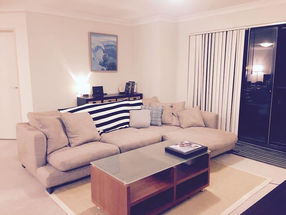 Big comfortable lounge room