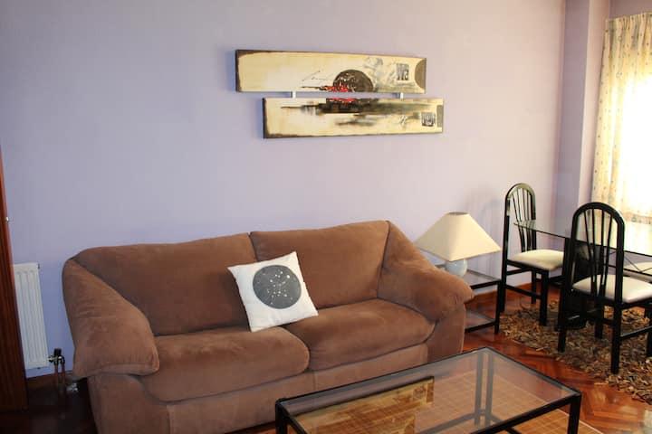 Apartamento centro Monforte de Lemos con garaje