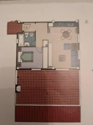 Alquilo  apartamento  en  urbanizacion El Bosque