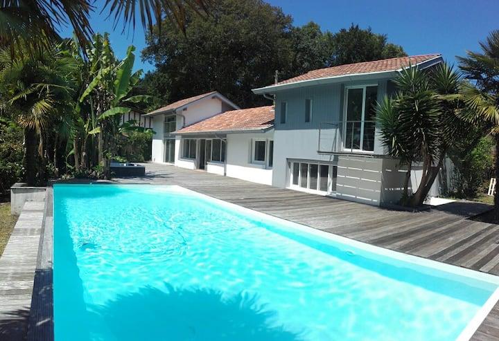 villa piscine  Ilbarritz