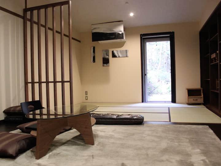 芦之湖附近的现代日式房间#15~17