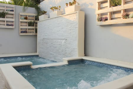 Elegante apartamento con piscina en Santiago