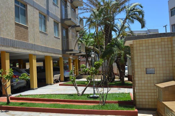 Apartamento Funcional a 1 quadra da Praia do Forte
