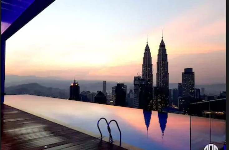 LUXURIOUS & CONFORTABLE ROOM  KLCC TWIN TOWER (02) - Kuala Lumpur - Byt