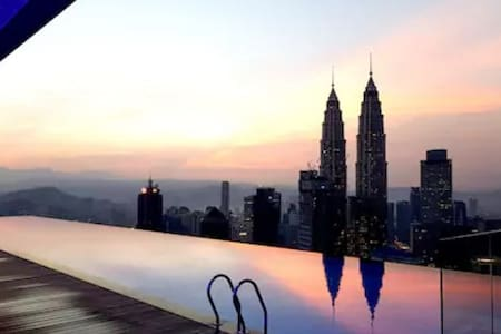 LUXURIOUS & CONFORTABLE ROOM  KLCC TWIN TOWER (02) - 吉隆坡 - 公寓