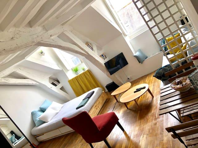 Cosy studio - Centre historique
