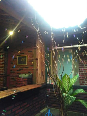 Homestay with nature area,,,20minutes to Borobudur