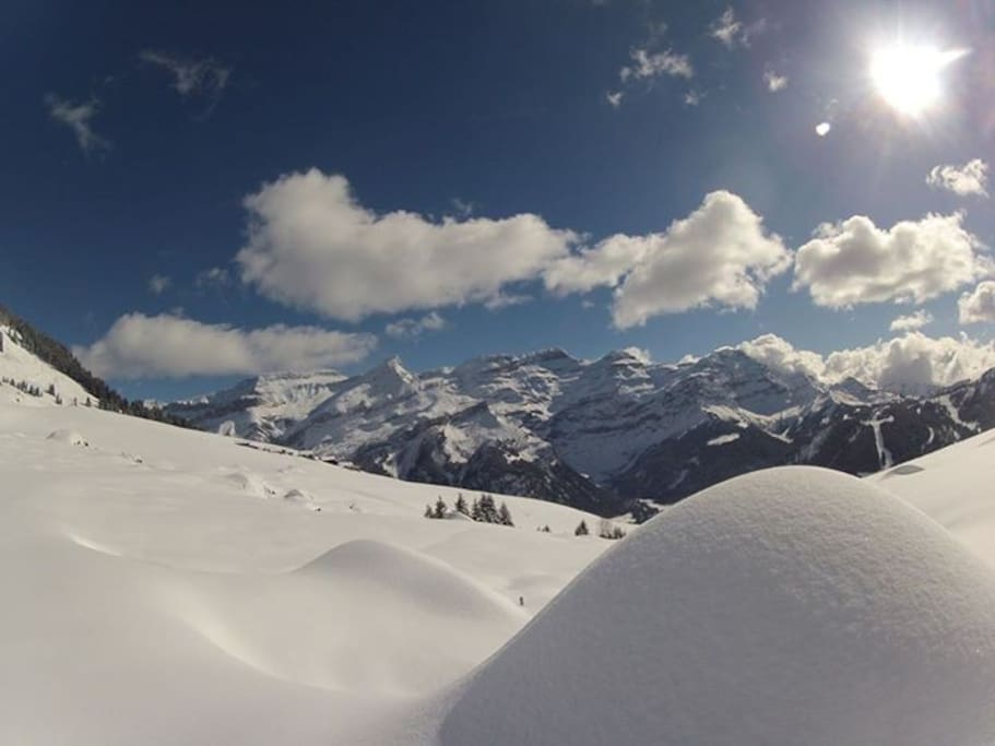 Domaine d' Isneau Ecole de ski