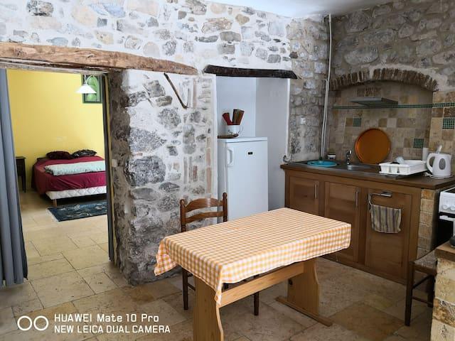 Appartement de charme en plein coeur du village