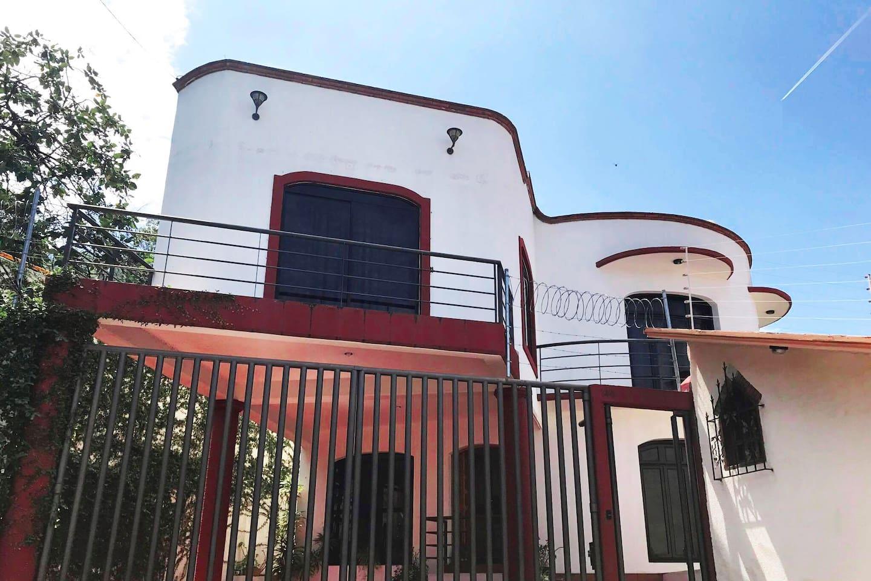 Exterior facade of the house