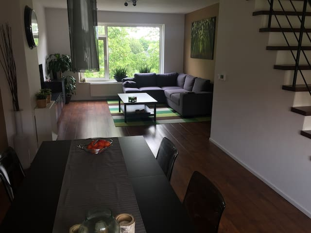 Centrally located, but quiet, apartment (85m2)