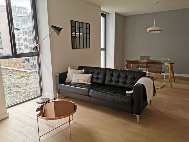 Stylish and modern apartment, in EU District