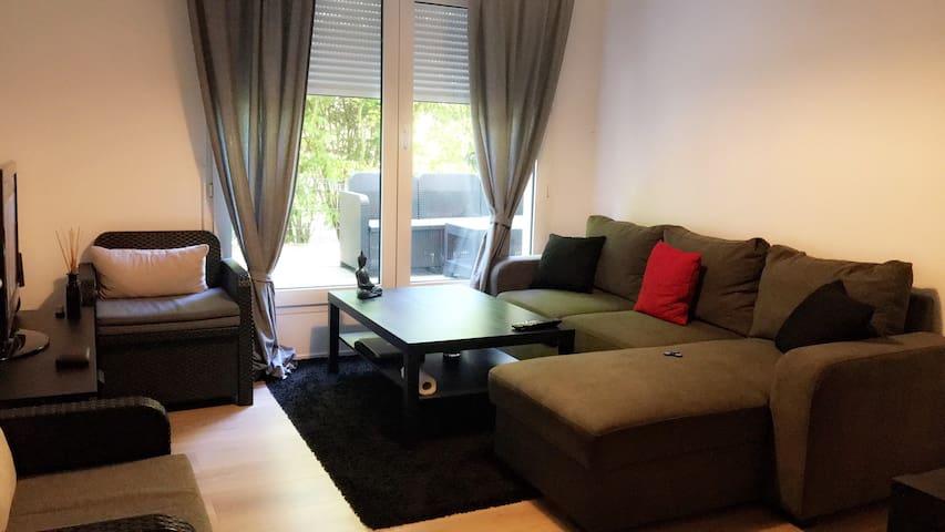 Appartement moderne avec terrasse