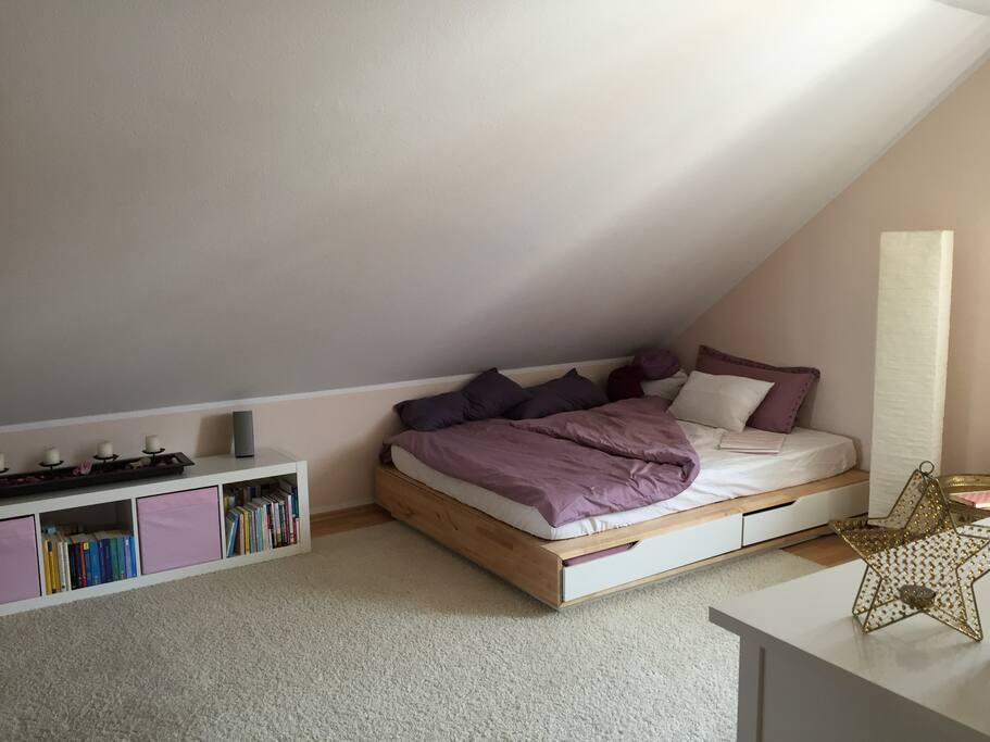 Das Wohn- & Schlafzimmer  /  livingroom & bedroom