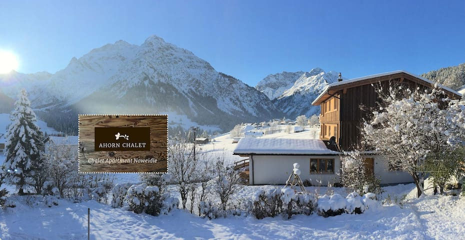 Beautiful Duplex Chalet Apartment  with Spa- 110m2 - Mittelberg