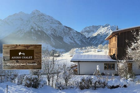 Beautiful Duplex Chalet Apartment  with Spa- 110m2 - Mittelberg - Huoneisto