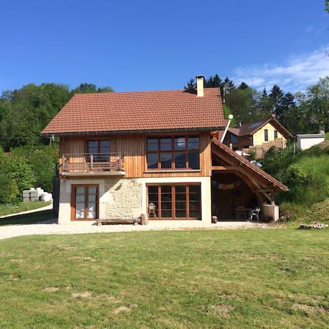 Superbe chalet à 2 pas du lac - Saint-Alban-de-Montbel