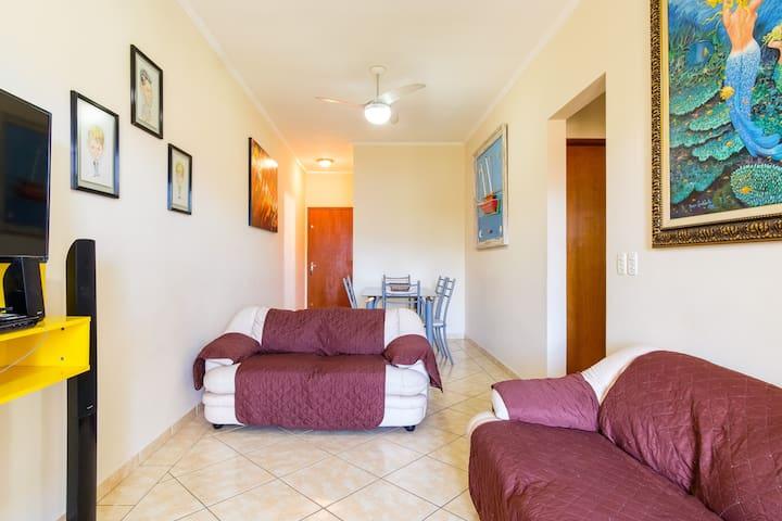 Apartamento perfeito para descanso em Ubatuba