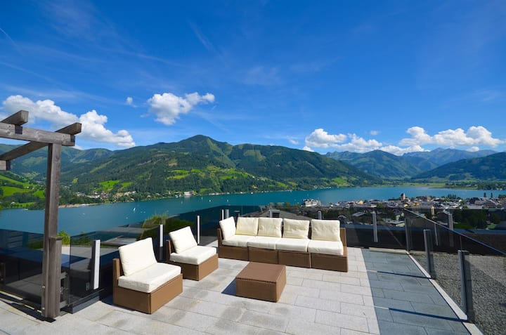 Apartment Eichenhof Top 3 - luxury apartment over two floors, fantastic lake view