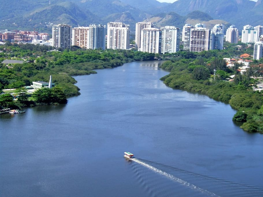 Uma das vistas mais lindas do Rio.