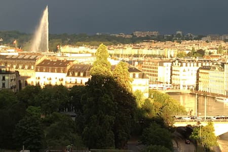 Amazing views from luxury flat - Genève - Lejlighed