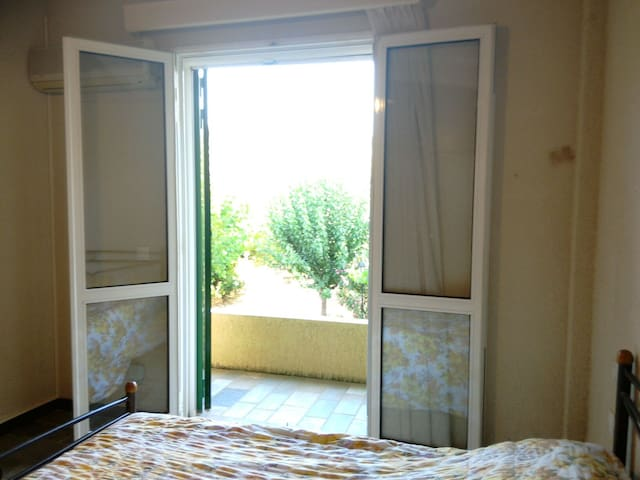 The view from the 1st bedroom