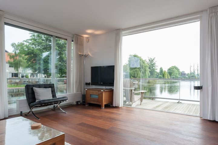 5-star (family) house near water - Roelofarendsveen - Casa