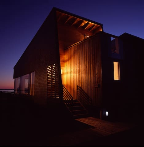 Seaside Architecture at Shobac Farm:Mosher Cottage