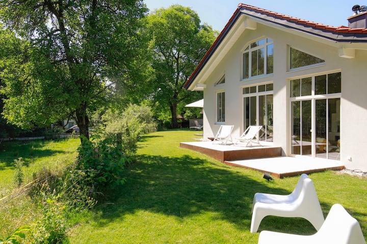 Modernes Design-Haus bei München am Ammersee