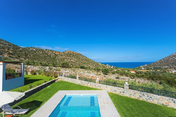 Dream Villa Orchidea, magnificent views! - Rethymno - Hus