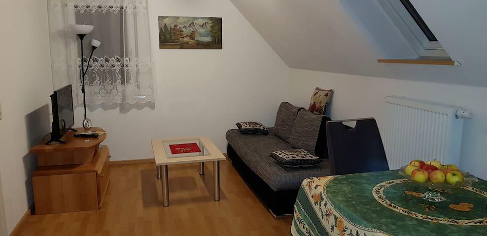 Fernblick - 2 Zimmer Appartment