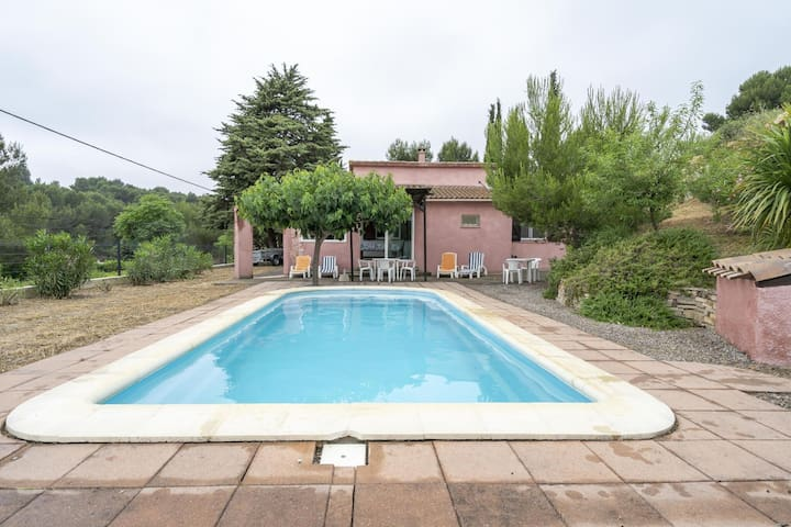 Lovely Villa in Soleil d'Oc with Swimming Pool