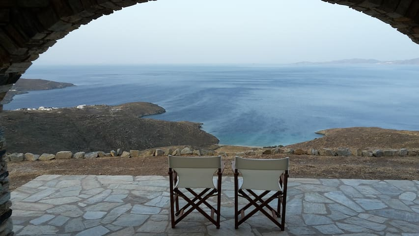 AegeanBestView ideal friends and family lodging 6+ - GR - Casa