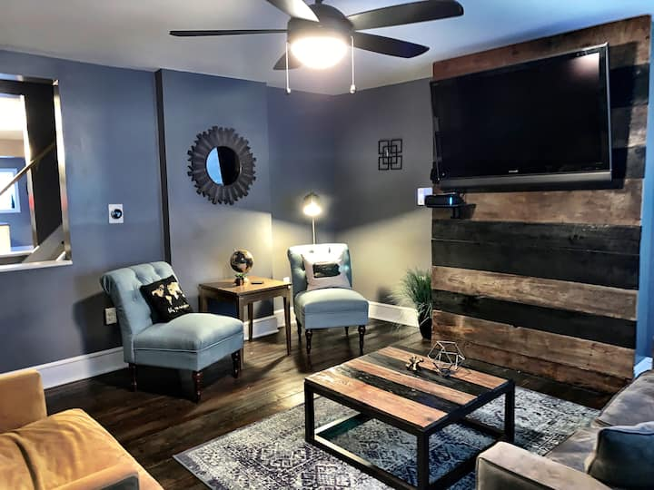 Walkable prime Location!  Private patio & parking