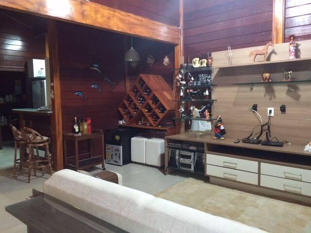 Casa estilo Chalé para temporada em Bananeiras- PB - Bananeiras - บ้าน